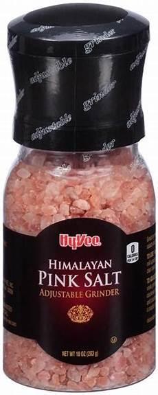 Himalaya Salz Inhaltsstoffe - hy vee himalayan pink salt grinder hy vee aisles