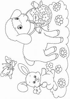 Malvorlage Ostern Gratis Easter Colouring Easter Paper Craft To Print And Colour