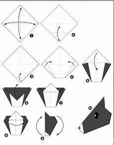 origami animaux facile diagramme origami cheval facile origami day chaque