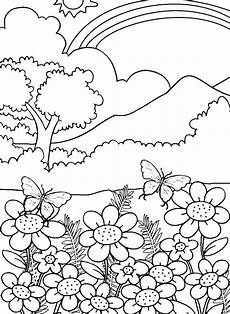 nature colouring pages to print 16387 free printable nature coloring pages for adults at getcolorings free printable colorings