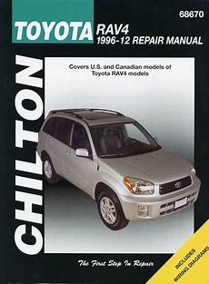 auto repair manual free download 1996 toyota rav4 navigation system toyota rav4 repair shop manual 1996 2012 chilton 68670
