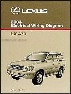automotive service manuals 1998 lexus lx transmission control 2004 lexus lx 470 repair shop manual original 2 volume set
