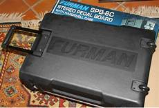 furman pedal board furman spb 8c stereo pedal board power conditioner with reverb