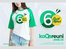 Desain Contoh Model Kaos Reuni Akbar Logo dan Kata Kata