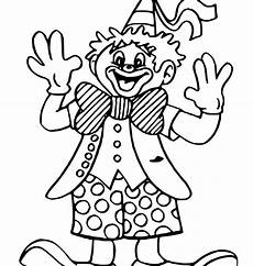 clown coloring pages at getcolorings free