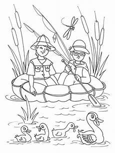 malvorlagen angeln kostenlos coloring and malvorlagan