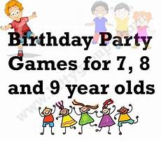 Birthday For 7 8 And 9 Year Olds