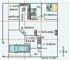 Contoh Denah Rumah Indo Feng Shui Belajar Feng Shui