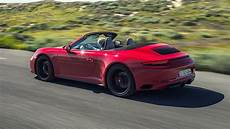 porsche 911 gts cabriolet 2017 review car magazine