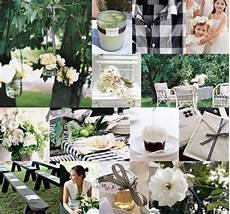 black and white casual gingham gingham wedding garden wedding decorations wedding decorations