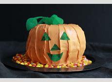 jack o lantern cake_image
