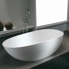Baignoire 238 Lot Design En Solid Surface Ovale Stockholm