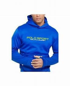 lyst polo ralph polo sport tech fleece hoodie in