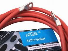batteriekabel 50mm2 3m m10 mit ring 246 sen rot