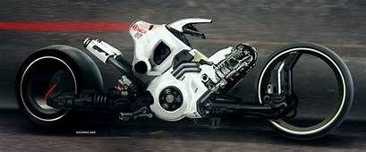 Motorcycle Concept By Paul Denton  Futuristic Design And