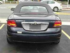 Sell Used 2003 Chrysler Sebring LXi Convertible 2 Door
