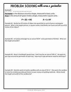 perimeter word problems worksheets 3rd grade 11400 area perimeter lesson problem solving 4th grade word problem packet quiz problem solving