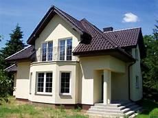 Elewacje Zuzzy Grafitowy Dach I Białe Okna Cz 1