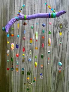 Windspiel Basteln Mit Kindern - perlen windspiel deko windspiele bemalte st 246 cke und