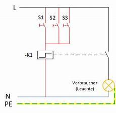 kreuzschaltung mit taster schaltplan wiring diagram