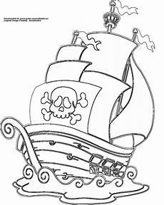 Malvorlagen Jungs Beaconsfield Piratenschiff Gratis Ausmalbild