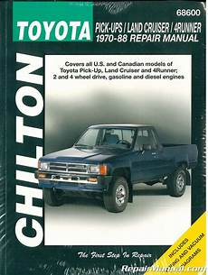 chilton ford pick ups and bronco 1976 1986 repair manual chilton toyota pick ups land cruiser 4runner 1970 1988 repair manual