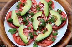 Salade Simple D Avocats Et Tomates Recettes De Laylita