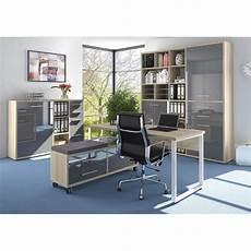 armoire basse de bureau design ch 234 ne naturel verre gris