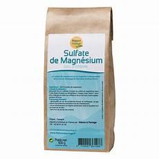 sulfate de magn 233 sium sel d epsom 500 g nature