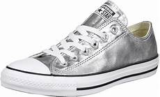converse all ox shoes silver