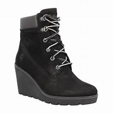 Timberland Height 6in Velours Femme Noir Femme