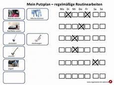 Putzplan Routinearbeiten Einfache Organisation Rezepte