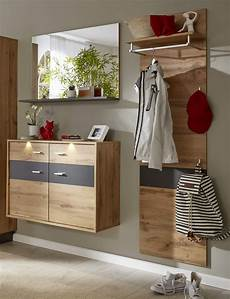 garderobe eiche garderobe coast wotan eiche dekor und grau 3 teilig