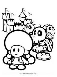 Malvorlagen Gratis Mario Toadette 7 Gratis Malvorlage In Comic Trickfilmfiguren