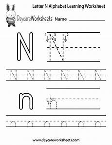 letter join worksheets free 23164 preschoolers can color in the letter n and then trace it following the stroke order with this