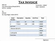 difference between tax invoice and retail invoice with similarities and comparison chart key