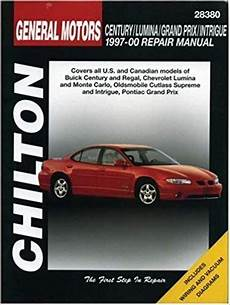 old car owners manuals 1997 chevrolet g series 2500 parking system gm century lumina grand prix and intrigue 1997 00 repair manual pdf manual https