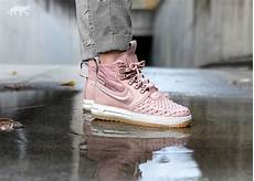 nike lunar force 1 duckboot particle pink grailify sneaker releases