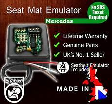 fit mercedes passenger seat occupancy mat airbag bypass emulator srs sensor ebay
