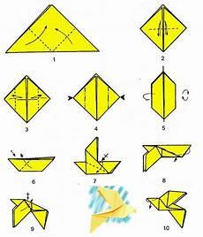 Simple Origami Dove Origami Dove Origami Easy Origami