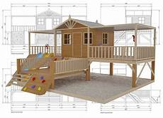 timber cubby house plans timber top mansion cubby house australian made kids