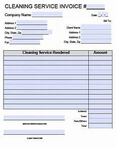 free cleaning receipt template house cleaning invoice dascoop info
