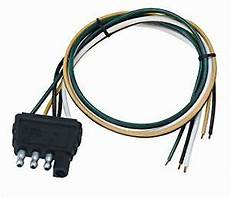 wesbar 707286 boat utility trailer 4 way flat wire harness connector ebay