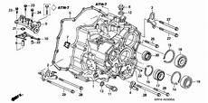 2007 honda pilot engine diagram 25812 p7w a01 genuine honda gasket passage atf