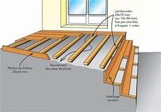 pose lambourde terrasse bois pose de terrasse sur lambourde bois construction