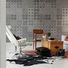 papier peint carreaux de ciment 4 murs les carreaux de ciment lili in