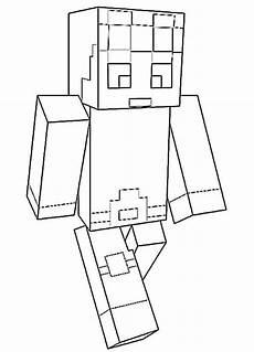 Malvorlagen Minecraft Drucken Minecraft 4 Ausmalbilder Kostenlos