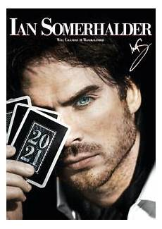 ian somerhalder offizieller kalender 2021 the vire