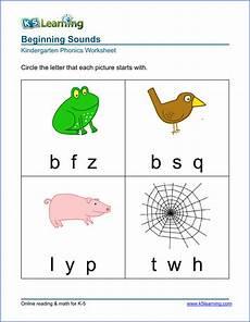 animals phonics worksheets for kindergarten 14220 kindergarten beginning sounds worksheet kindergarten phonics worksheets phonics kindergarten