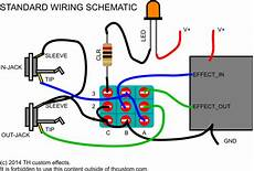 guitar effects wiring diagram switching mechanical switches standard wiring diagrams th custom effects